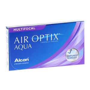 Lentilles de contact multifocales Air Optix Aqua Multifocal (3 lentilles) - 1 mois