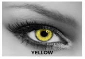 Lentilles de contact Soleko Queen's Trilogy Yellow - 1 mois
