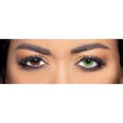 Lentilles de Contact Vertes Obsession Paris Sensuality Emerald - 3 Mois